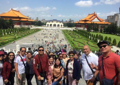Chaing Kai Memorial Hall in Taiwan