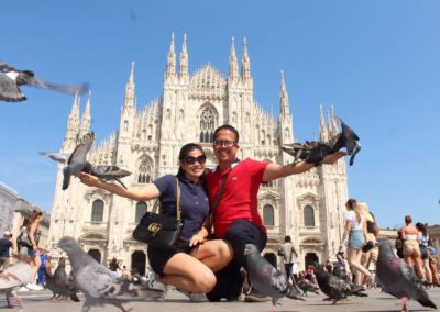 Milan Cathedral in Milan, Italy
