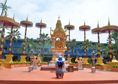 Temple Visit in Pattaya, Thailand