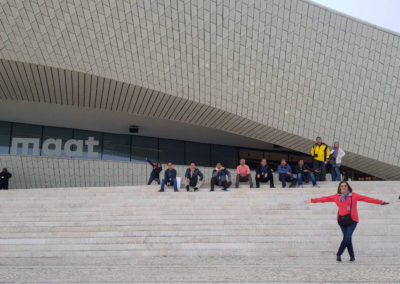 Visit to MAAT in Lisbon, Portugal